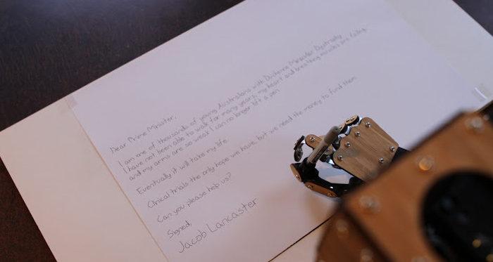Scribing Robot Arm : Un bras robotisé SCARA dédié à l'écriture