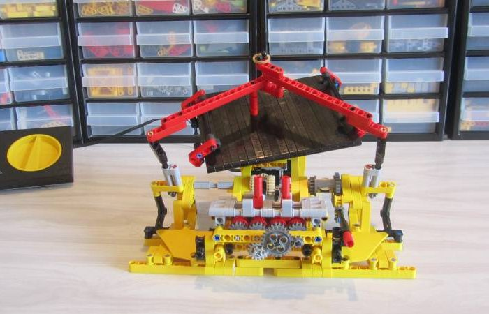 Une machine Spirographe à base de LEGO Technic