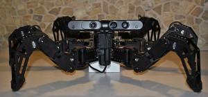 Charlotte : Un robot hexapode à base Rasperry PI avec une vision 3D