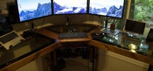 DIY : Un magnifique bureau informatique monté sur vérins