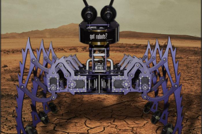 Grinder : Le robot hexapode qui fait du roller