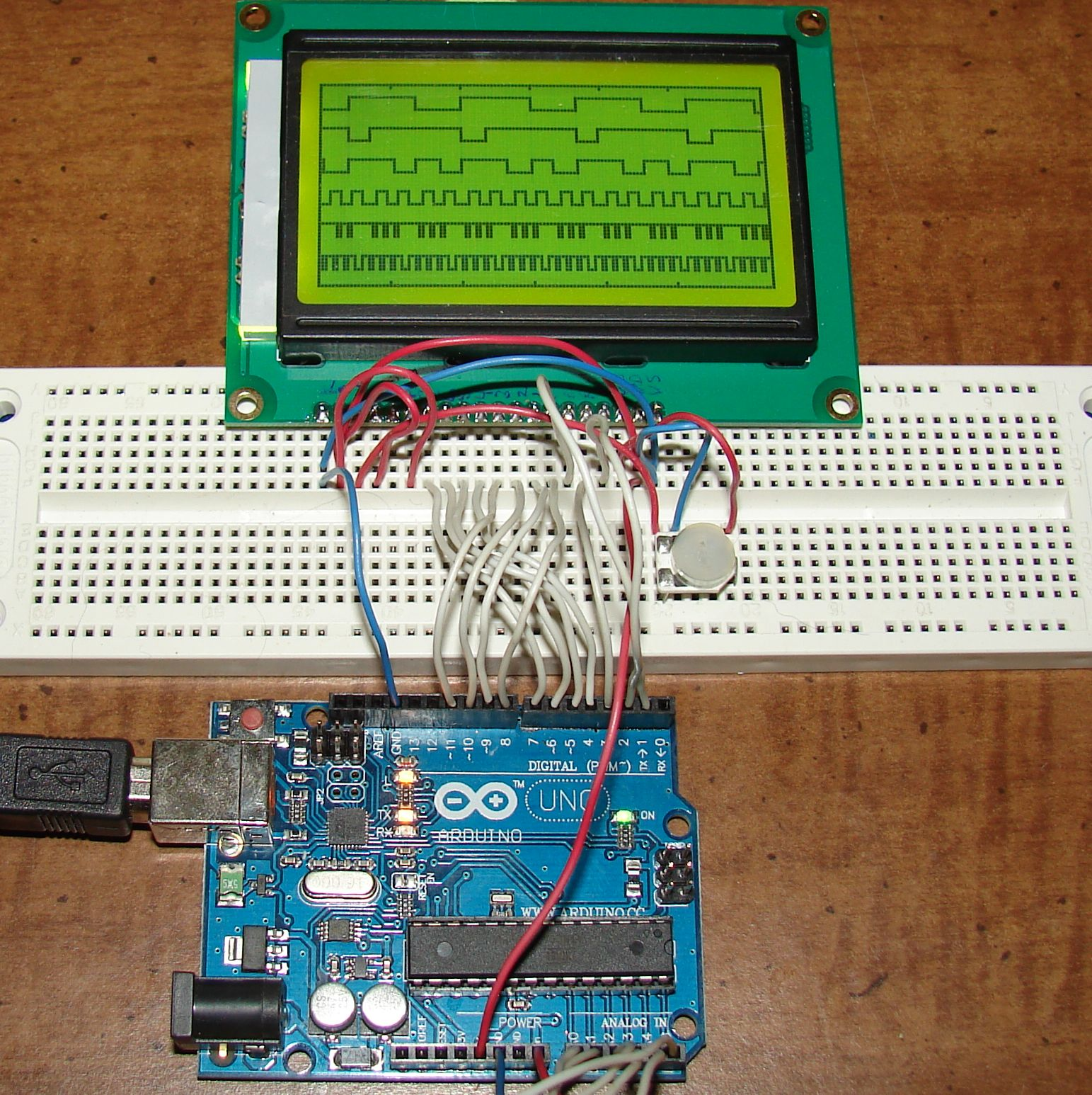 How to Use Graphic LCD 12864B on Arduino