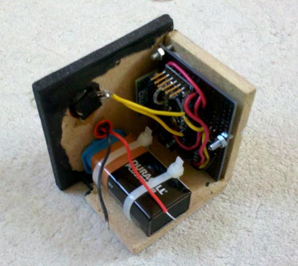 Bloc électronique Boîte SpaceInvaders