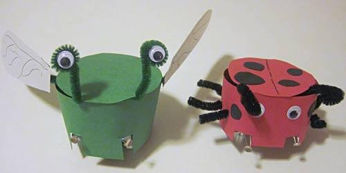 diy comment fabriquer simplement un petit robot suiveur de lumi re semageek. Black Bedroom Furniture Sets. Home Design Ideas