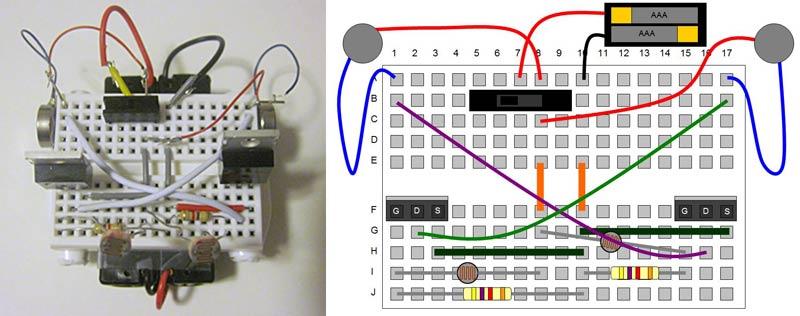 Diy comment fabriquer simplement un petit robot suiveur