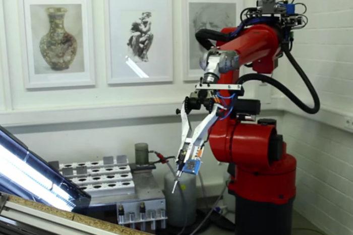 e-David : Le robot artiste peintre