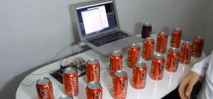 DIY : Jouer de la musique avec des boites de Coca et un Arduino