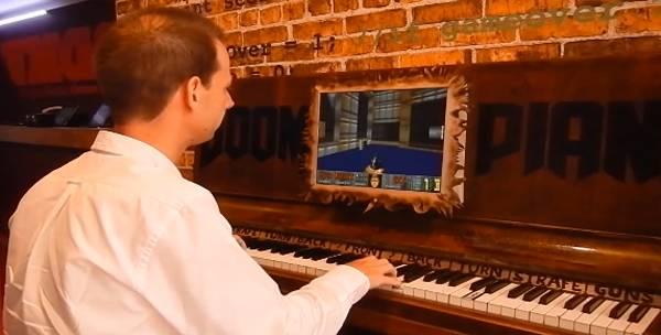 Doom Piano : Jouer à Doom avec un piano