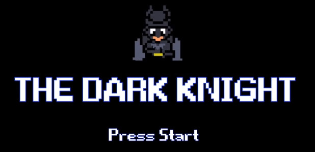 Vidéo : Batman, The Dark Knight en version 8 Bits