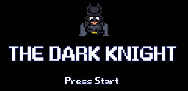 Vidéo : Batman, The Dark Knight en version 8 Bits