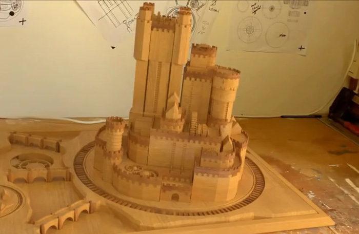 Vidéo : Un château qui se déploie comme dans Game of Thrones