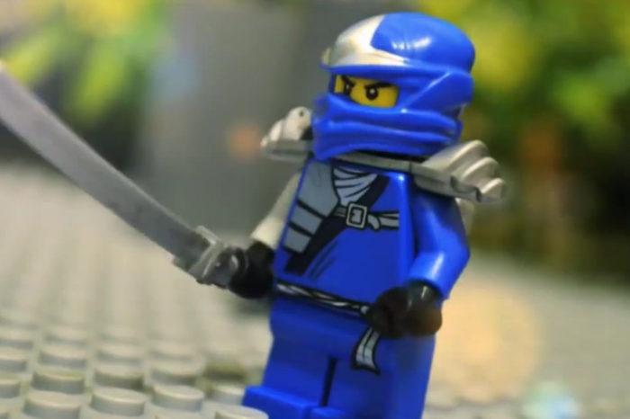 Vidéo : Un combat de Ninja réalisé avec des LEGO en stop motion