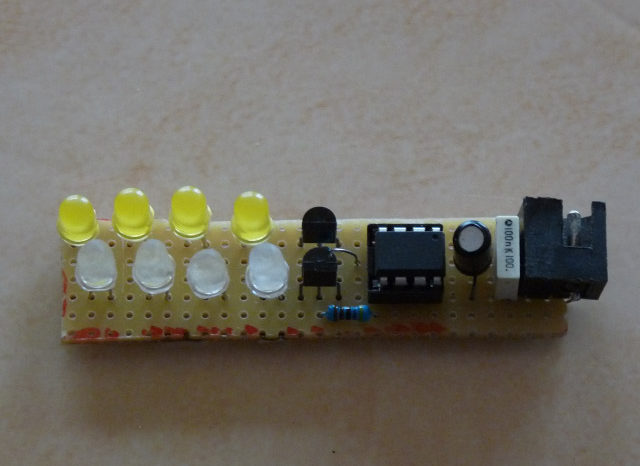 DIY : Un simulateur de flamme à base d'ATTiny