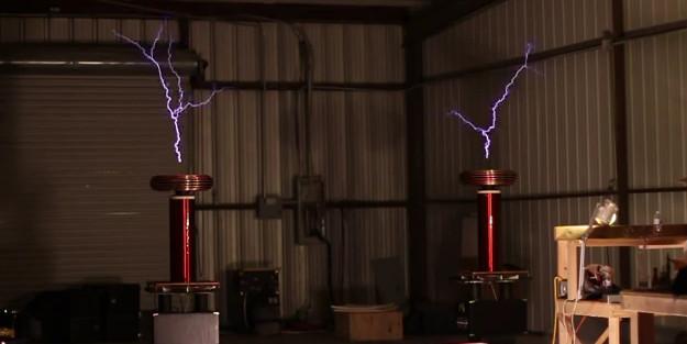 Vidéo : Le thème de Game of Thrones joué avec des bobines Tesla