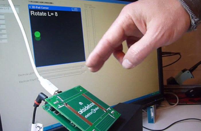 3D Pad : Un contrôleur 3D sans contact à base d'arduino