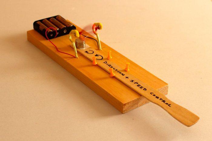 DIY : Fabriquer simplement un petit moteur educatif