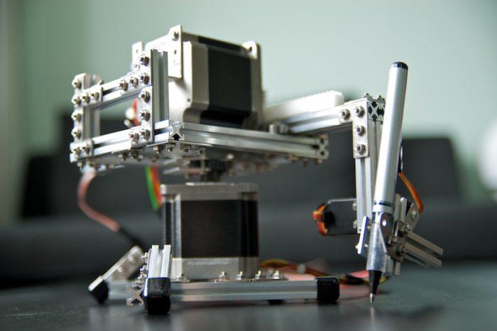 DIY : Fabriquer une traceur à coordonées polaires à base d'Arduino