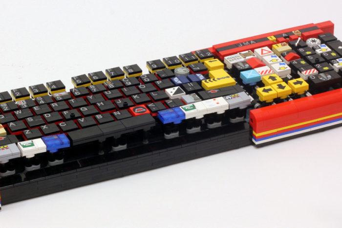DIY : Un clavier d'ordinateur réalisé avec des LEGO