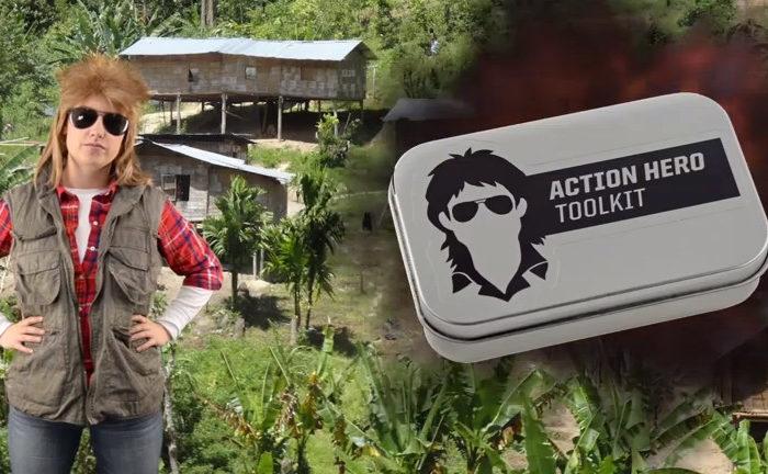 The Action Hero Toolkit : Tous les outils de MacGyver réunis en un même kit
