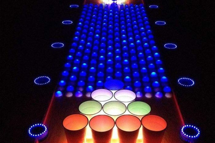 DIY : Une magnifique table de Beer Pong interactive