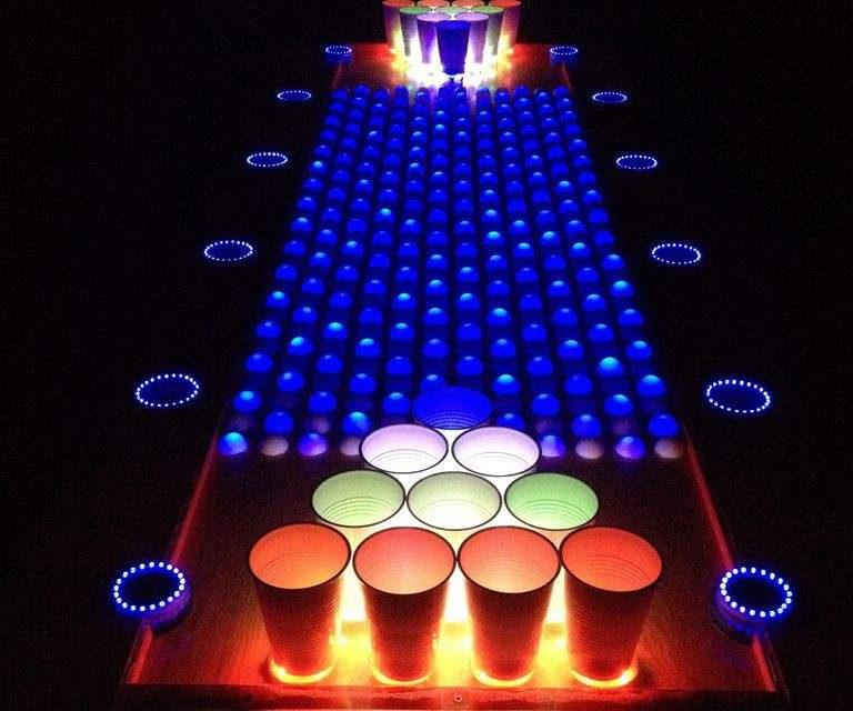 Diy Une Magnifique Table De Beer Pong Interactive Semageek