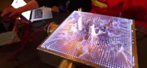 Pyro Board : La version 2D du tube de Rubens