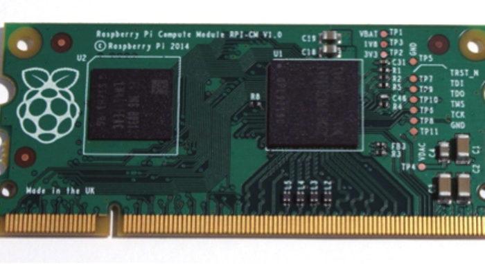 Raspberry Pi Compute Module : Un Raspberry PI encore plus petit