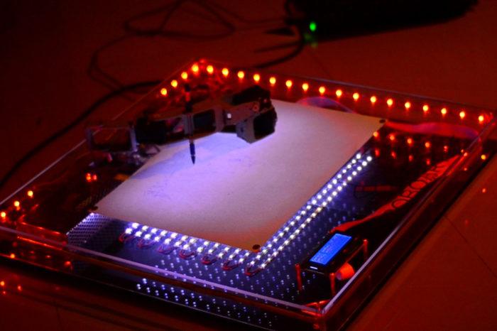 Roboartist : Le robot qui dessine comme un artiste