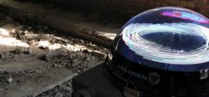 voLumen : Un afficheur volumétrique 3D à persistance rétinienne (POV)