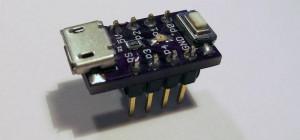 Nanite 85, la plus petite carte compatible Arduino