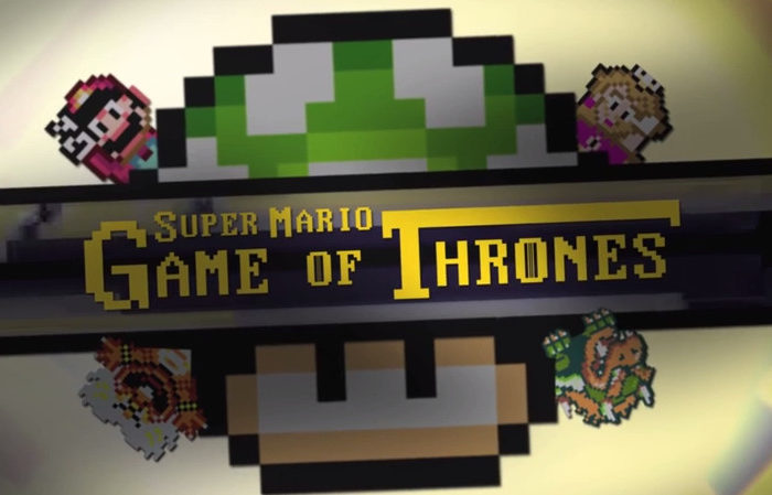 Video : Super Mario Game of Thrones