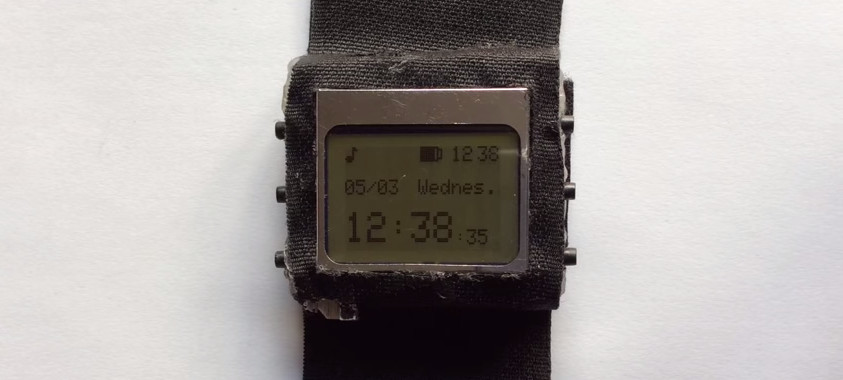 WatchDuino : Fabriquer une montre open hardware sous Arduino