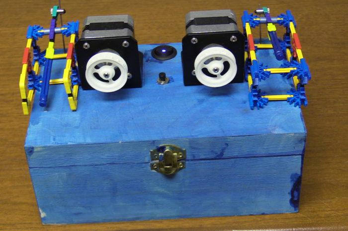 DIY : Une boite à musique à base d'Arduino, Raspberry PI et de moteurs pas à pas.