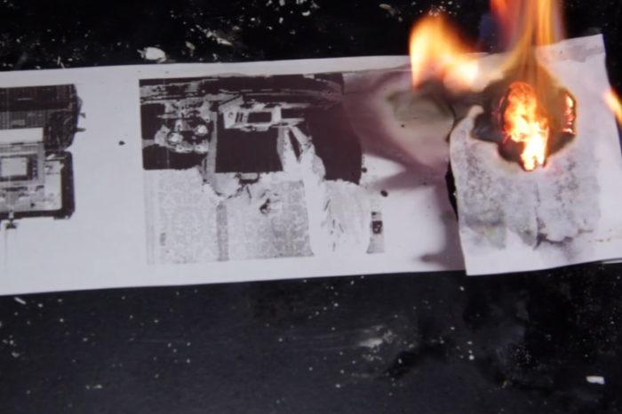 DIY : L'imprimante qui imprime des documents qui s'auto-detruisent