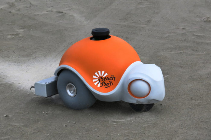 BeachBot : Le robot tortue qui dessine dans le sable