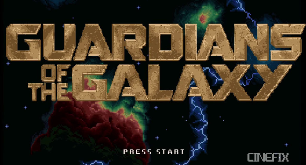 Vidéo : Les Gardiens de la Galaxie en version 16 Bits