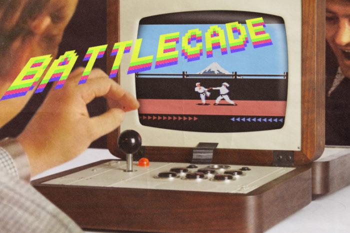 Battlecade : Une console d'arcade retro portable pour deux joueurs.