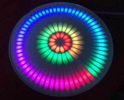 Neo-Pixel Clock V2 : Une horloge réalisée avec des NeoPixels rings