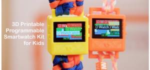 O Watch : Une montre imprimée en 3D à base d'Arduino pour les enfants
