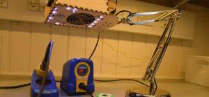 DIY : Transformer une lampe IKEA en aspirateur de fumée intelligent pour la soudure