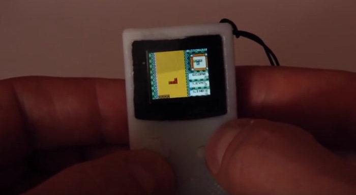 La plus petite Game Boy est de la taille d'un porte-clés