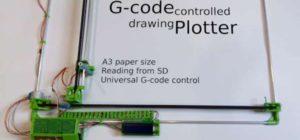 DIY : Une table traçante A3 pilotée en G-Code