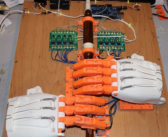 Ardu McDuino : Un robot cornemuse piloté par Arduino