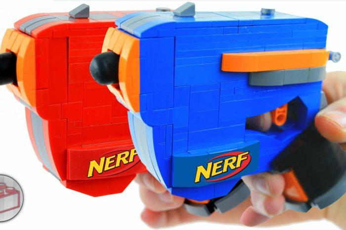 DIY : Comment fabriquer un pistolet Nerf fonctionnel avec des LEGO