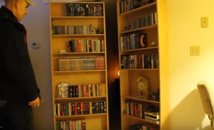 DIY : Une porte secrète derrière une bibliothèque pilotée par Arduino
