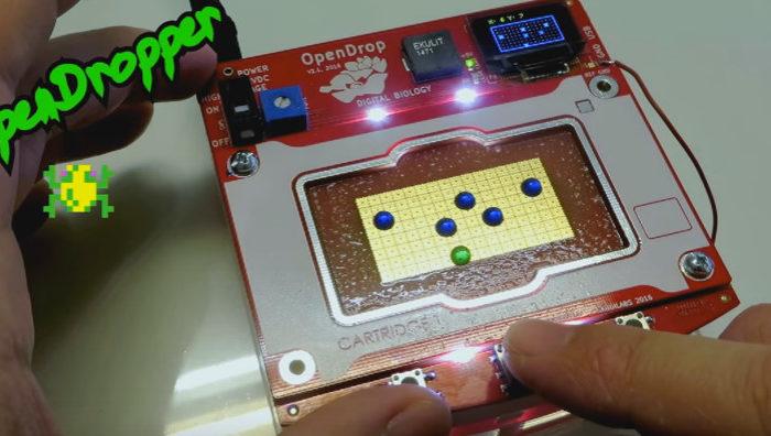 OpenDropper : Un version du jeu 8 bits Frogger très biologique