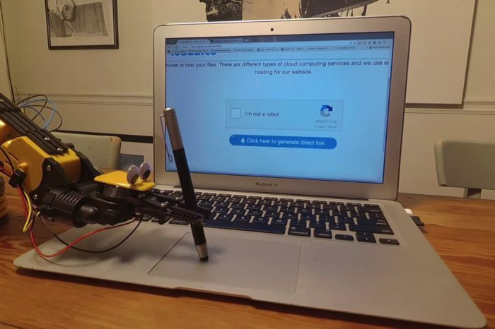 """Vidéo : Un robot qui passe le Captcha Test """"I'm not a robot"""""""