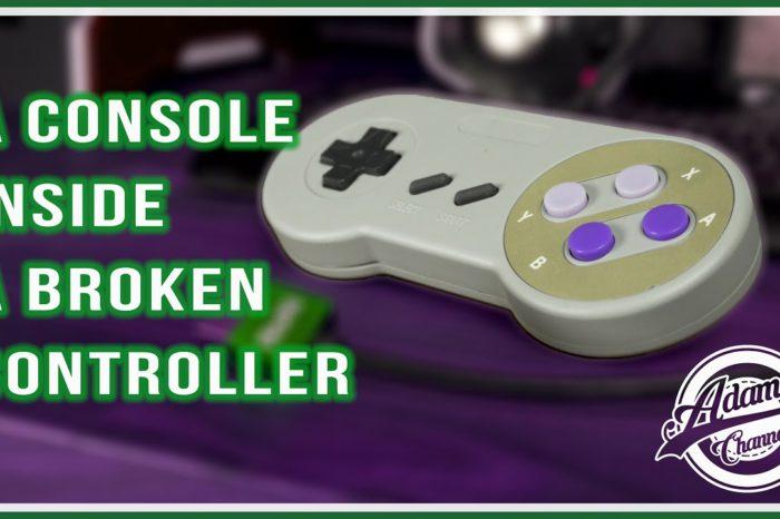 Comment transformer une manette de SNES en console de jeux ?