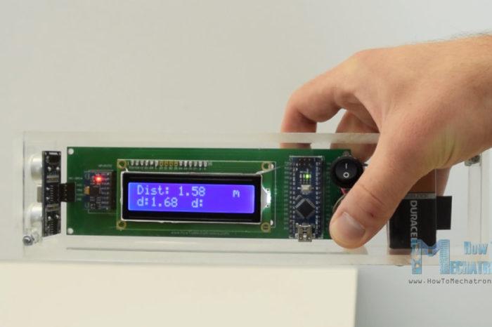 Fabriquer un niveau à bulle et un mesureur de distance électronique à base d'Arduino.