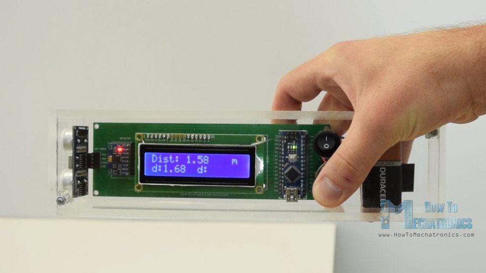fabriquer un niveau bulle et un mesureur de distance lectronique base d 39 arduino semageek. Black Bedroom Furniture Sets. Home Design Ideas